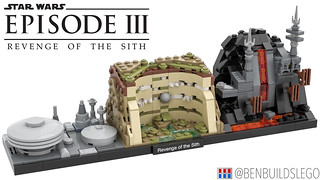 "Lego Star Wars - ""Revenge of the Sith"" Skyline MOC"