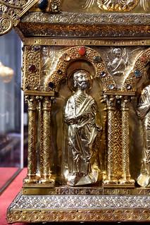 Beckum, Westfalen, St. Stephanus, shrine, St. Sebastian