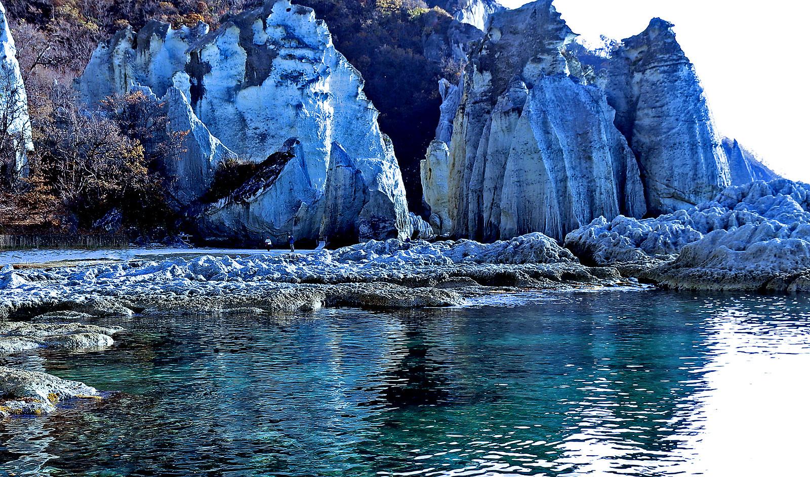 Shimokita Peninsula, Aomori : Hotokegaura cliff,Japan 下北半島 仏が浦