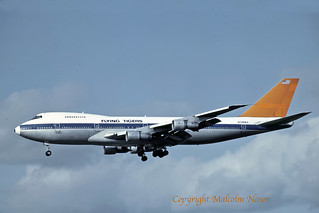 BOEING 747-273C N749WA FLYING TIGERS ex VIASA
