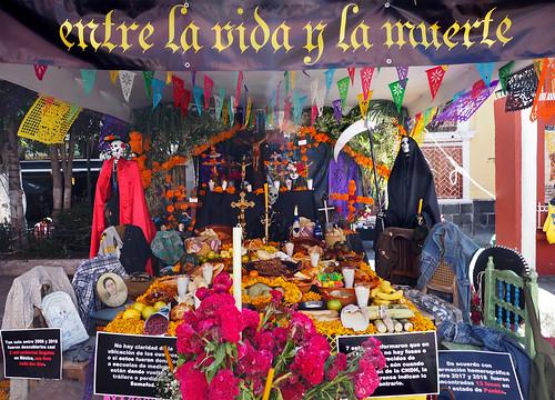 Dia de los muertos Pour les disparus du Mexique