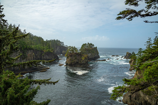 Cape Flattery - Pacific Northwestern Tip of the contiguous United States - Washington - September 2019