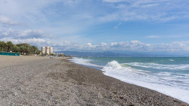 Plage, Beach - Torremolinos, Costa Del Sol, Espagne, Spain - 2126