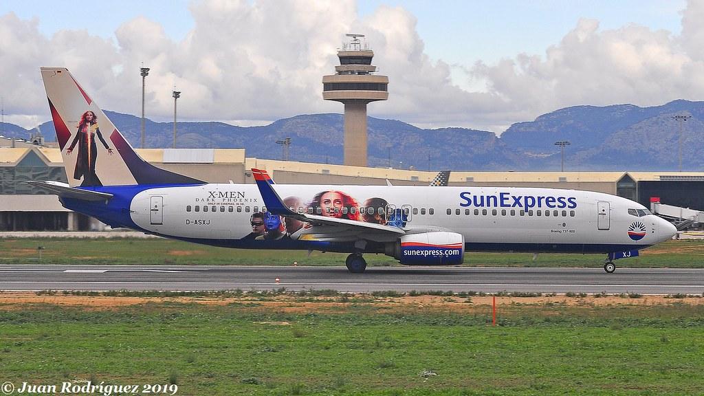 D-ASXJ - SunExpress Germany - Boeing 737-86N(WL)- PMI/LEPA
