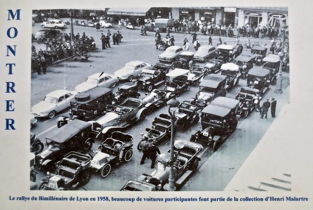 Lyon Classic Car Rallye 1958