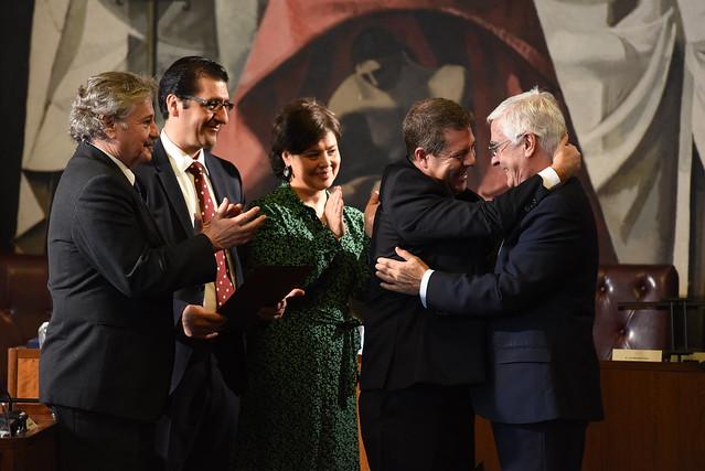 Acto de ingreso de José María Barreda, en el Instituto de Estudios Manchegos (IEM)