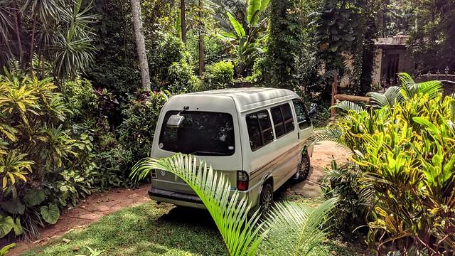 Our Ride Back to Minuwangoda