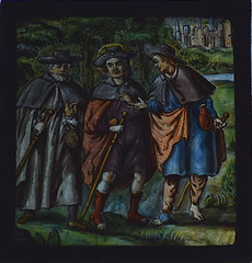 Christ with his fellow travellers on the road to Emmaus (17th Century, continental)