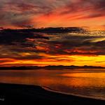 15. November 2019 - 18:23 - From the causeway near Antelope Island