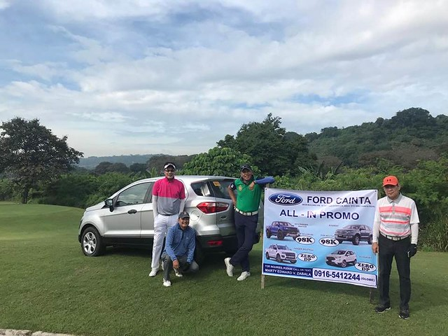 Ford Cainta hole in one sponsor