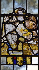 fragments including a hand holding cakes (English, 15th Century)