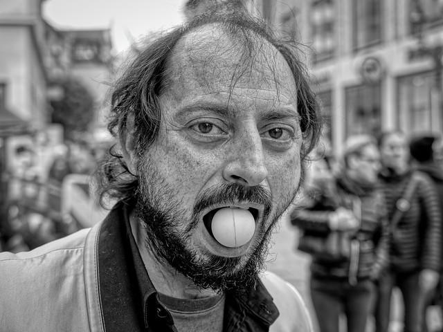 PORTRAIT OF A STREET ARTIST