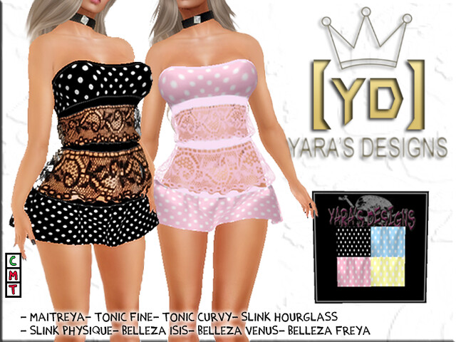 [YARA'S DESIGNS]SOL DRESS #8