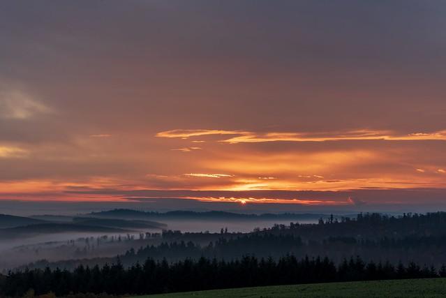 herbstlicher Sonnenaufgang / autumn sunrise