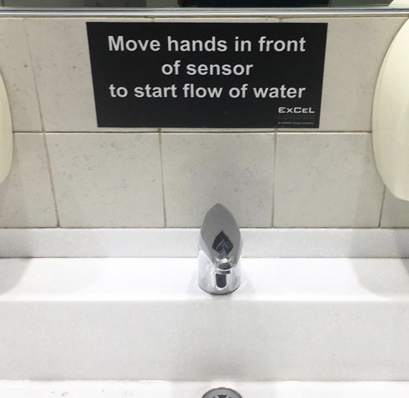The problem with taps these days