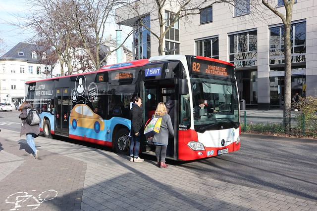 Mercedes Citaro in Trier