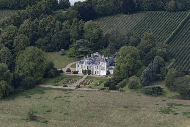 Oxon Hoath Country Estate aerial image