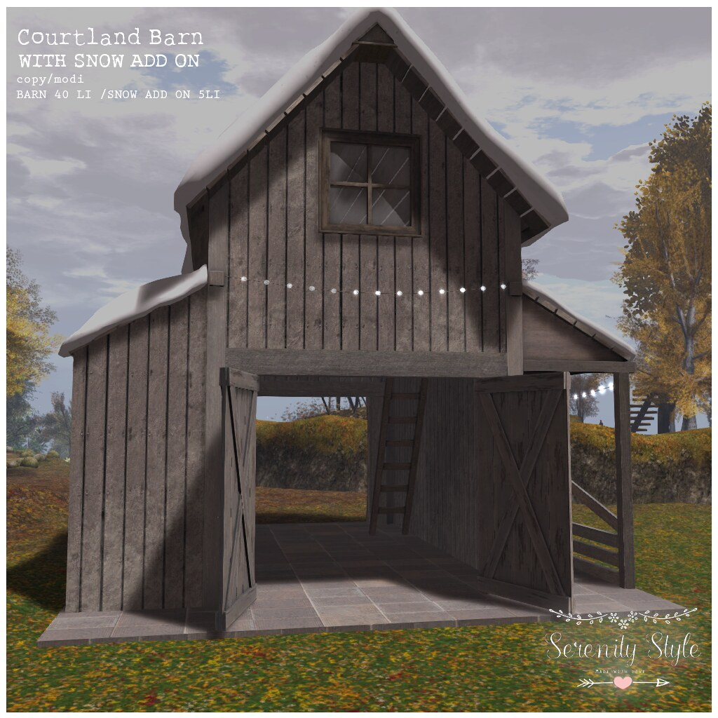 Serenity Style-Courtland Barn