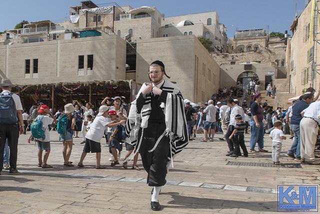 Jerusalem at Sukkot: at the Wailing Wall