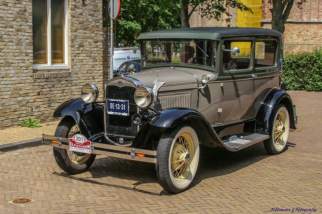 1931 Ford A Tudor - DE-13-31