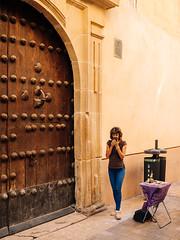 Street Vendor and a Door