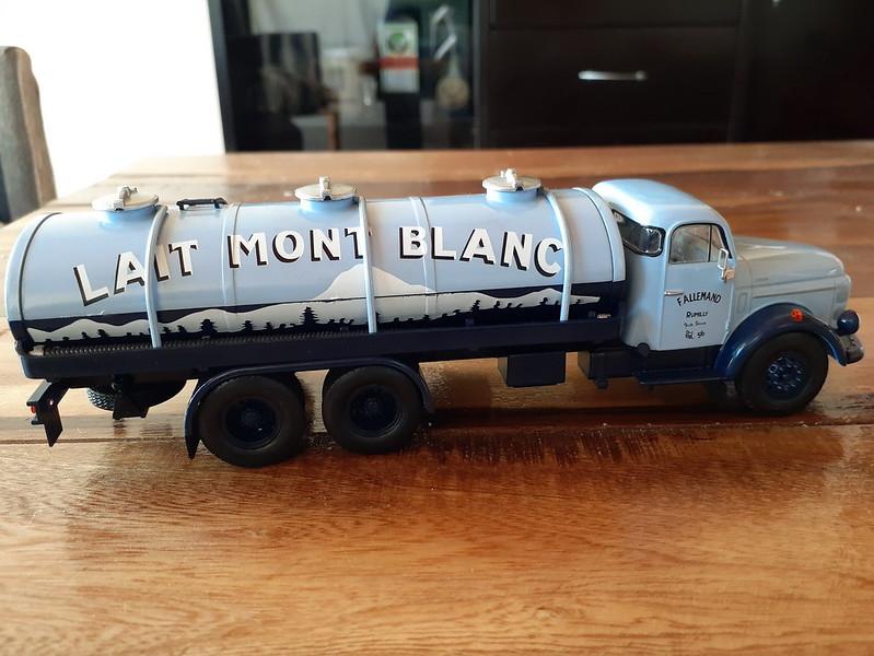 Volvo N88 - Lait Mont Blanc - 1970