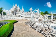 Wat Rong Khun, Chiang Rai, Tailandia web