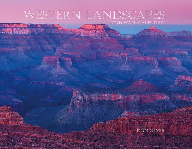 2020 Western Landscapes wall calendar