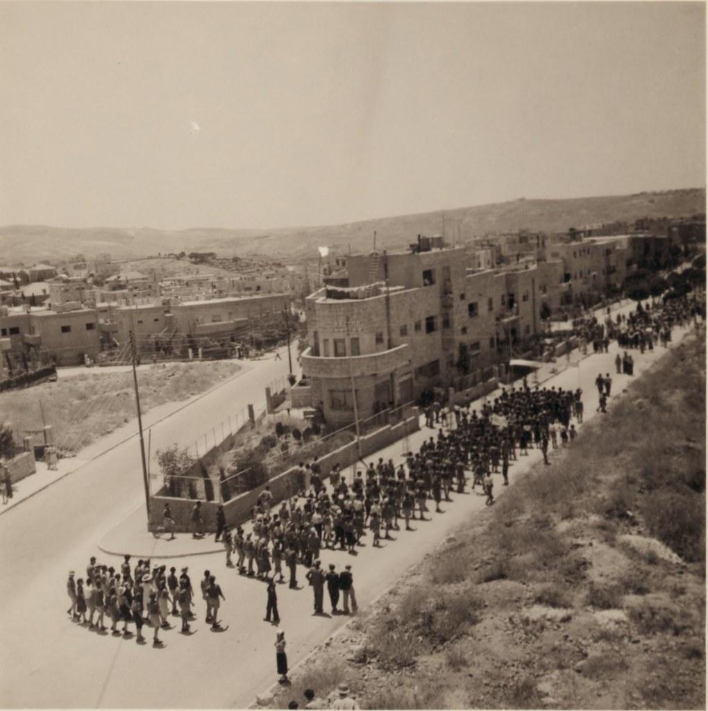 32. Иерусалим. Еврейский протест против Белой Книги