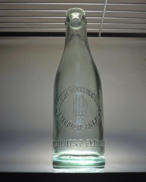 D.P. Lowe Bottling Works Soda Bottle