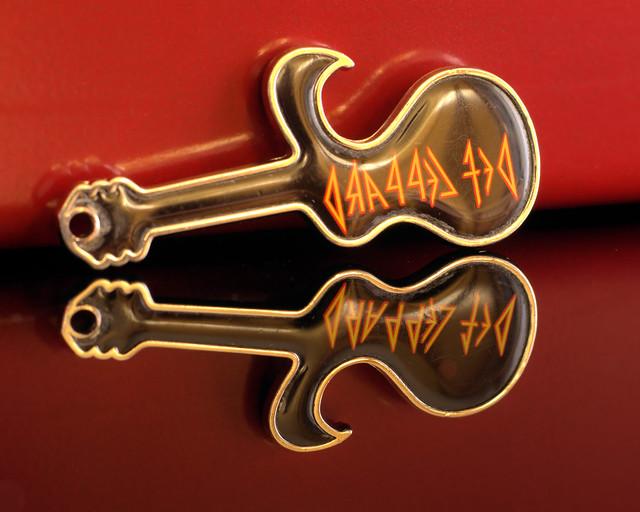 Def Leppard Keyring Pendant and Bottle Opener