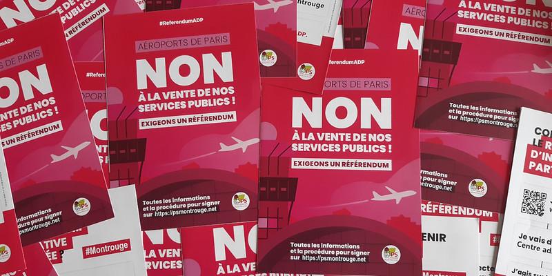 Flyer référendum ADP - 10 octobre 2019