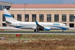 SP-ENN Boeing 737-8CX Enter Air AGP 19-10-19