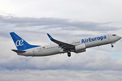 EC-MKL Boeing 737-86Q Air Europa AGP 19-10-19