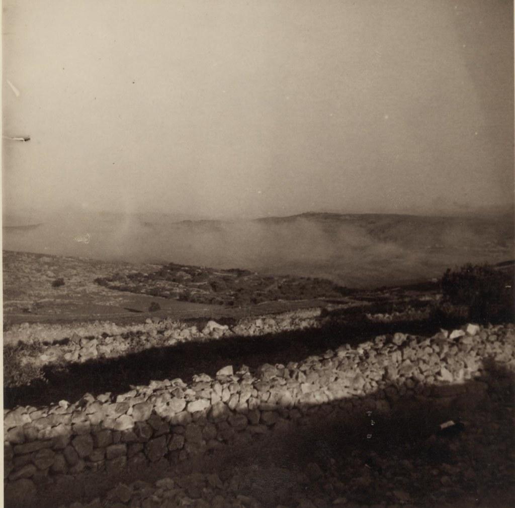 27 августа. Долина и туман возле Шафата