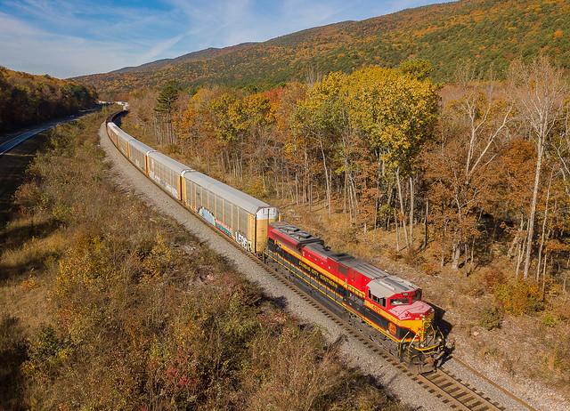 KCS 4191 (SD70ACe) Train:MQKCSH09 Fogel, Oklahoma