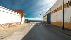 Estepona Streets and Port, Malaga, Spain