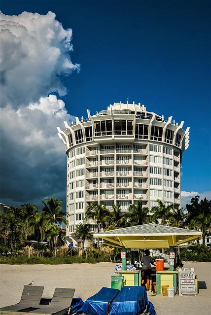 Beach hotel...