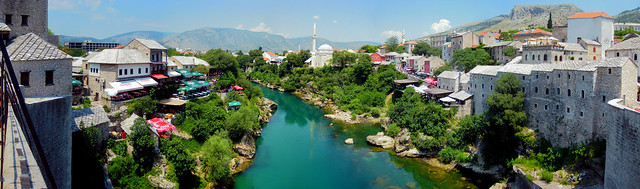 Mostar from Old bridge