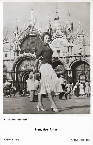 Françoise Arnoul in Venice