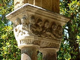 Chapiteau,cloître de l'abbaye de Saint-Sever-de-Rustan, jardin Massey...Tarbes