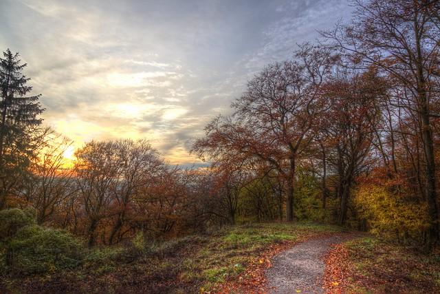 November hiking