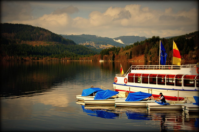 Getting ready (Titisee, Germany)