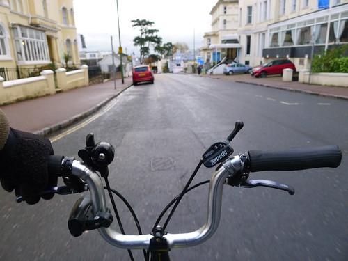Riding Through Torquay