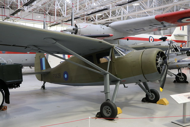 FS628 (G-AIZE)  -  Fairchild 24W-41A Argus  -  Royal Air Force  -  RAF Museum Cosford 15/11/19