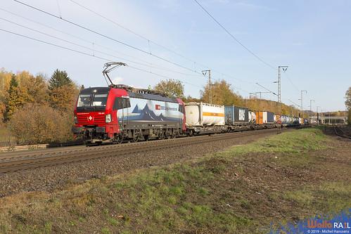 193 467 . SBB Cargo . 40070 . Stolberg (Rheinland) . 16.11.19.