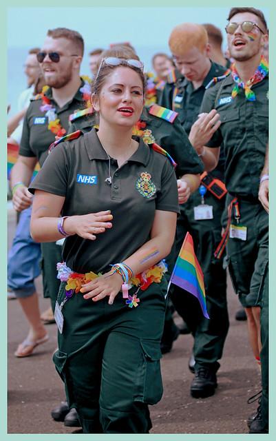 pride brighton 2019: NHS