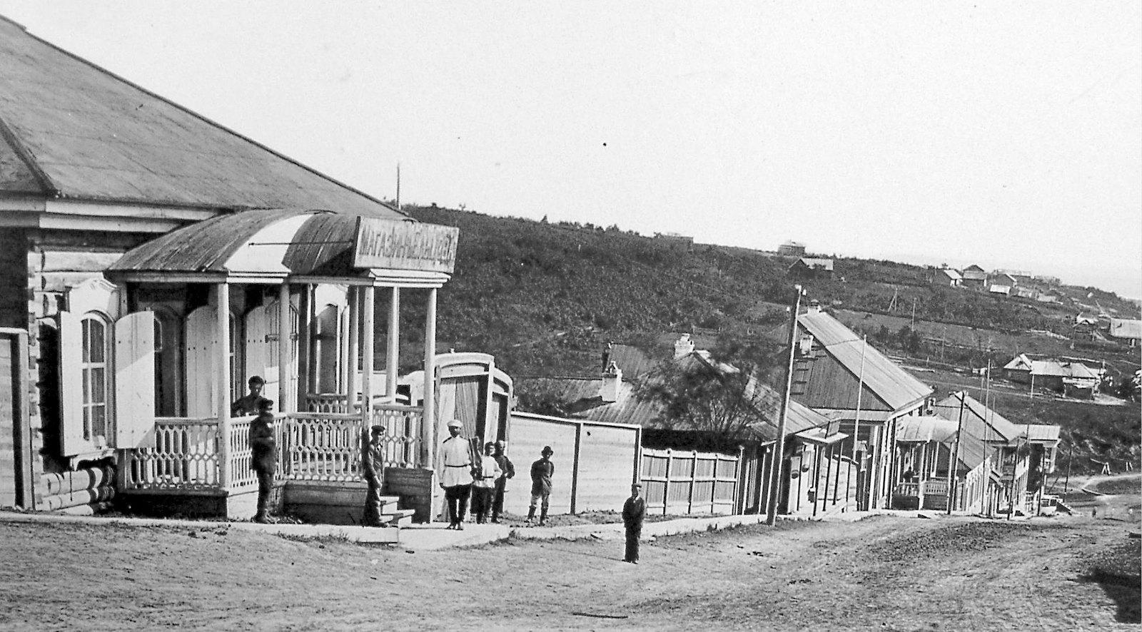 06. Улица Алексеевская, магазин Ельцова. 1878
