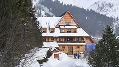 Popradské pleso - horský hotel