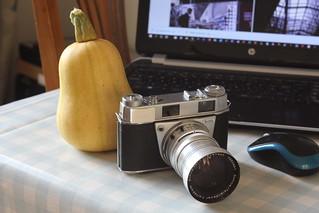 Camera of The Day - Kodak Retina IIIS (Type 027) with f4/135mm Tele-Xenar
